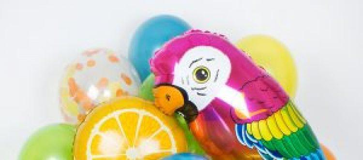Воздушные шары фрукты
