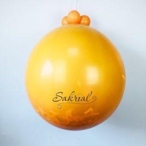 Оранжевый Шар Сюрприз