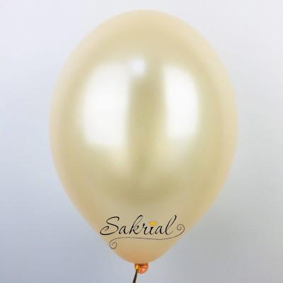 шар металлик персиковый