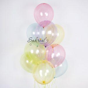 Гелиевые шары мыльные пузыри