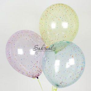 Купить Шар с конфетти (Мыльные пузыри микс)