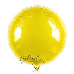Купить Шарик Круг жёлтый