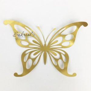 Золотая Бабочка для Шаров