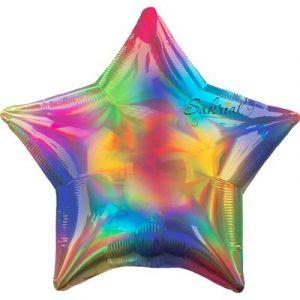 Звезда Голографическая «Радуга»