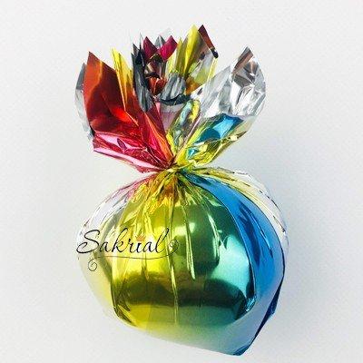 Радужный грузик для гелиевых шаров