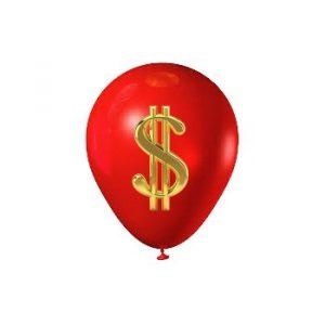 Стоимость воздушных шаров