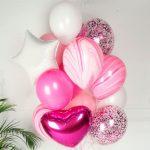 Купить Набор Шаров в розовом