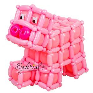 Фигура Свинья из Шаров Майнкрафт