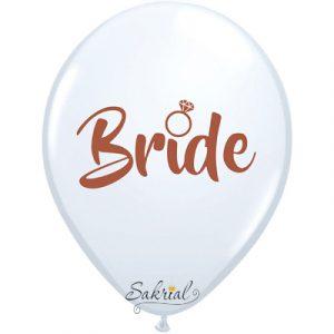 Латексный шар Невеста (Bride)