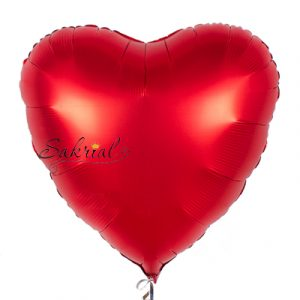Сердце Сатин «Красное»
