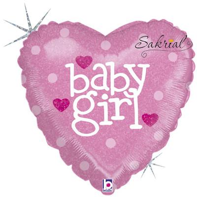 Шар Сердце Baby Girl