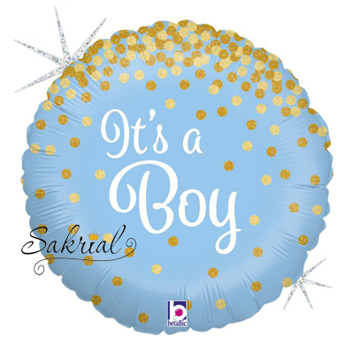 Шар Круг Its a Boy