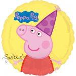 Шар Свинка Пеппа на кругу
