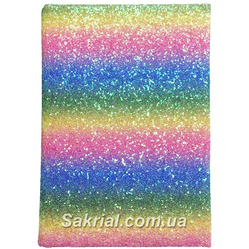 Блокнот голографический радуга