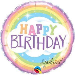 Радужный шарик на День рождения