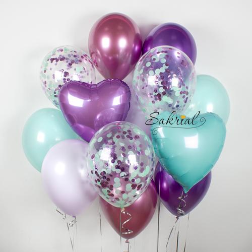 Подарок из шариков на Оболони