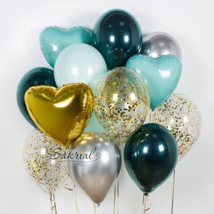 Оригинальный и необычный набор шариков на День Рождения в Киеве