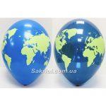 Латексный шарик планета