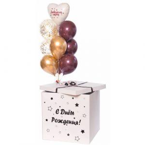 Набор шаров в коробке для мужчины
