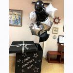Коробка с шарами для шефа