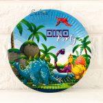 Купить бумажные Тарелки динозаврики в Киеве