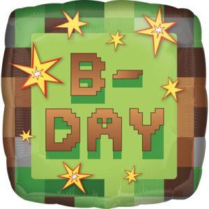 Шарик на день рождения майнкрафт
