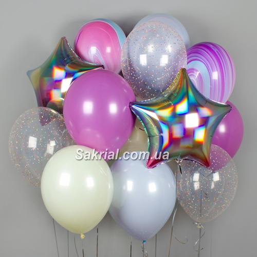 Фантастический набор с шариками и конфетти