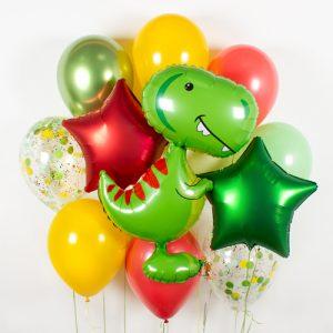 Купить набор шариков с тираннозавром в киеве