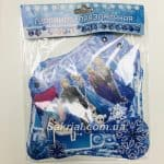 Гирлянда «С Днем Рождения» Холодное сердце Frozen купить в Киеве