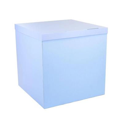Голубая коробка для шаров купить в Киеве