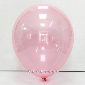 Шарик кристалл розового цвета