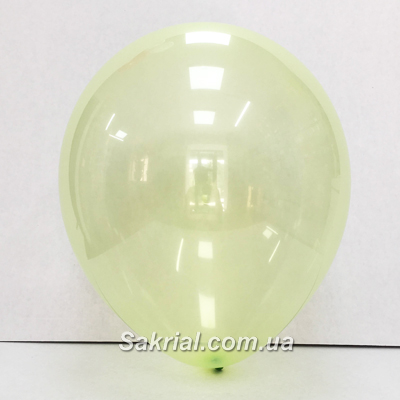 Шарик кристалл зеленого цвета