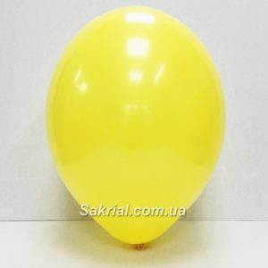 Шарик пастель ярко желтый купить в Киеве