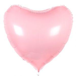 Шарик Большое сердце «Розовое»