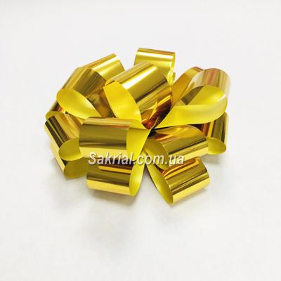 Купить Золотой бант для подарков в Киеве