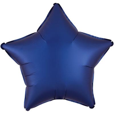 Звезда Сатин «Тёмно синяя»