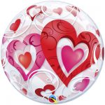 Шарик Bubble романтические сердца купить в Киеве