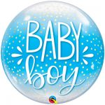 Шарик Bubble baby boy