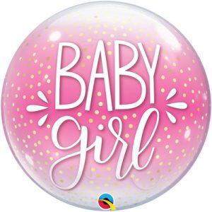 Шарик Bubble baby girl купить в Киеве