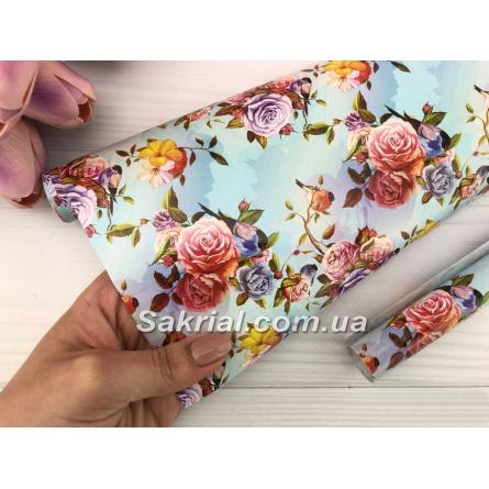 Заказать Упаковочная бумага (Розы) в Киеве