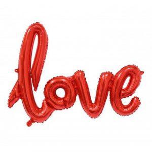 Шары Буквы LOVE красные купить в Киеве