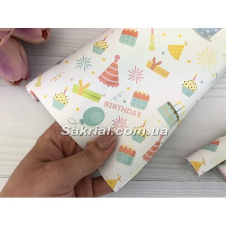 Упаковочная бумага (Подарки) купить в Киеве
