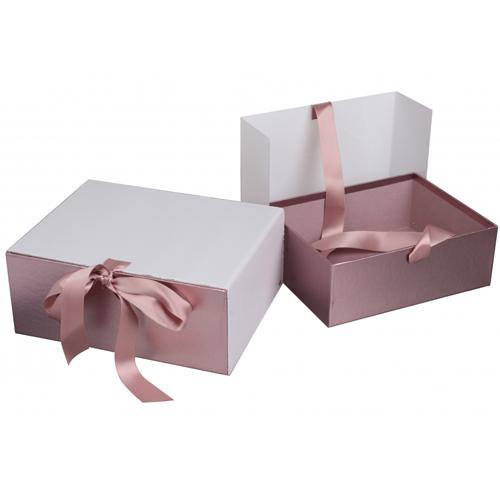 Подарочная коробка розовое золото купить в Киеве
