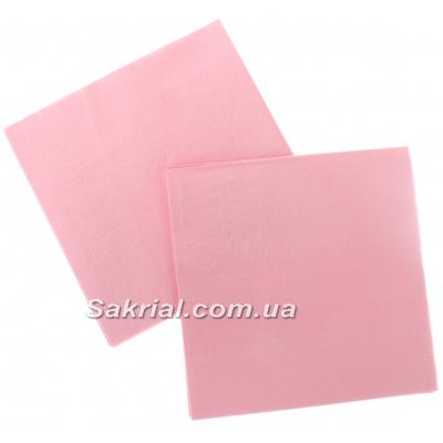 Салфетки розовые для праздника купить в Киеве