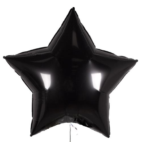 Шарик Большая звезда «Черная» купить в Киеве на оболони