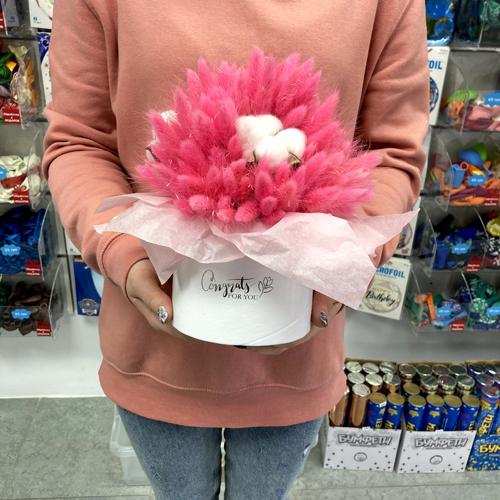 Очень Красивый букет из сухоцветов заказать в Киеве
