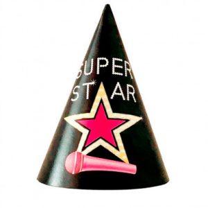 Праздничные Колпачки SUPER STAR купить в Киеве