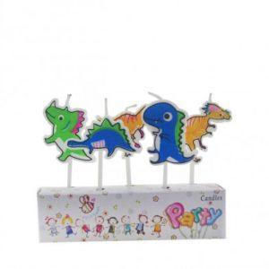 Свечи для торта Динозаврики 5шт/уп купить в Киеве