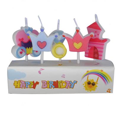 Свечи для торта принцессы 5шт/уп купить в Киеве