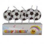 Свечи для торта Футбольный мяч 5шт/уп купить в Киеве